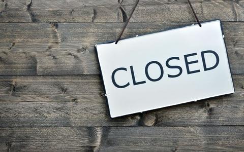 Lukket den 1. maj