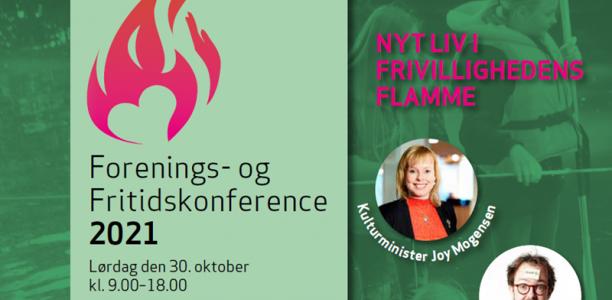 Forenings- og Fritidskonference 2021 - Nyt liv i frivillighedens flamme